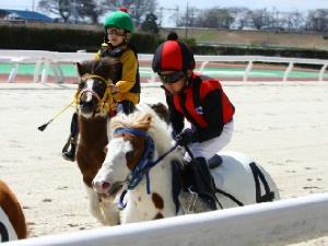 3R Aクラス予選1 2着 塚本康稀くん&バニラ号.jpg