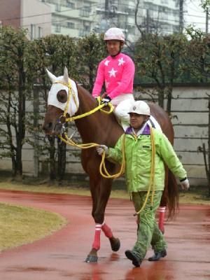 内田利雄騎手 08R 01 ホウコウフジ騎乗時3