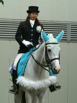 川崎の誘導馬6月紫陽花 昼Ver2
