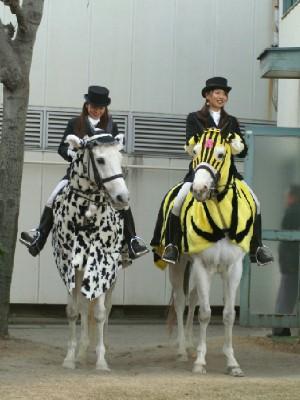 川崎競馬の誘導馬 1