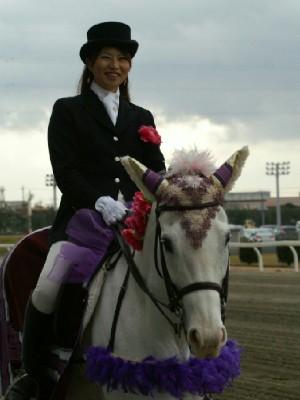 川崎競馬の誘導馬 1月後半開催 平場Ver アロワナリングくん 2