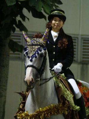 川崎競馬の誘導馬 10月もみじVer 1