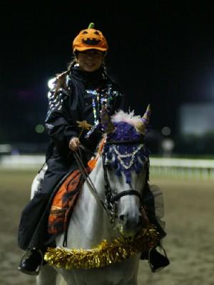 川崎競馬の誘導馬 10月ハロウィンVer その1-3