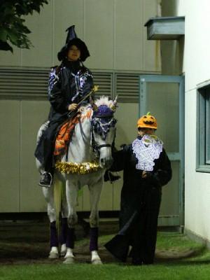 川崎競馬の誘導馬 10月ハロウィンVerその3 1