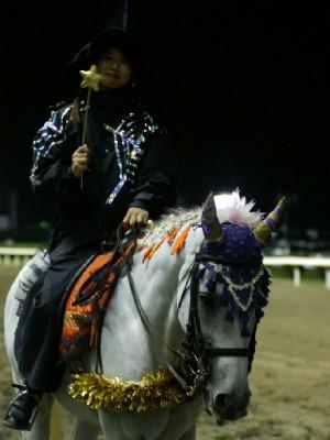 川崎競馬の誘導馬 10月ハロウィンVerその3 4