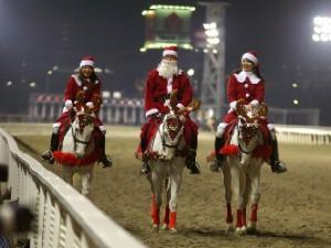 川崎競馬の誘導馬 12月クリスマス 重賞Ver 2
