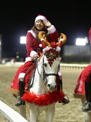 川崎競馬の誘導馬 12月クリスマス 重賞Ver 8