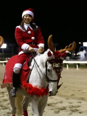 川崎競馬の誘導馬 12月クリスマスVer トゥインクルジョイくん 2