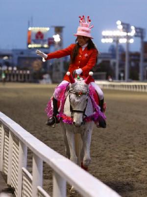 川崎競馬の誘導馬 12月開催 誕生日祝いVer 3
