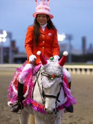 川崎競馬の誘導馬 12月開催 誕生日祝いVer 4
