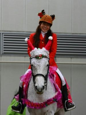 川崎競馬の誘導馬 12月開催 xmas 平場Ver ジョイくん 1