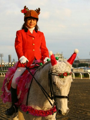 川崎競馬の誘導馬 12月開催 xmas 平場Ver ジョイくん 3