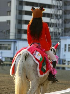 川崎競馬の誘導馬 12月開催 xmas 平場Ver ジョイくん 4