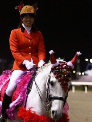 川崎競馬の誘導馬 12月開催 xmas 平場Ver ユーちゃん 4