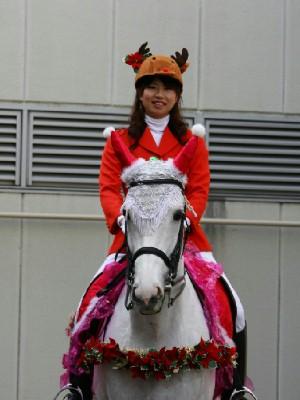 川崎競馬の誘導馬 12月開催 xmas平場Ver トーチくん 1