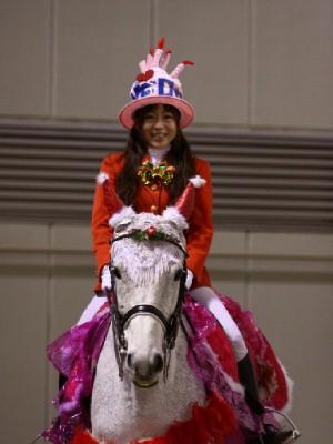 川崎競馬の誘導馬 12月開催 xmas&結婚祝いVer 1