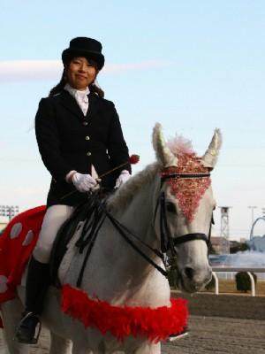 川崎競馬の誘導馬 3月開催 イチゴVer ユーちゃん 3