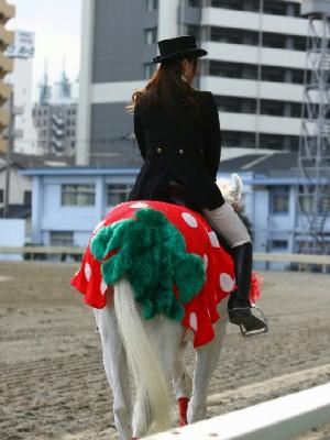 川崎競馬の誘導馬 3月開催 イチゴVer ユーちゃん 4