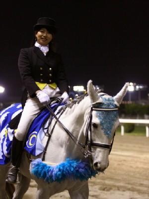 川崎競馬の誘導馬 5月 重賞Ver トライアンフトーチくん