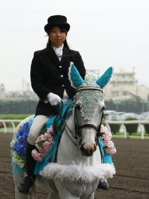 川崎競馬の誘導馬 6月開催 紫陽花Ver トーチくん 3