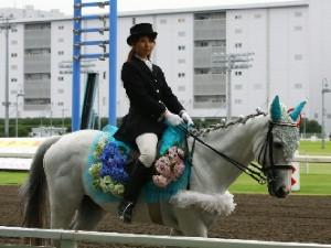 川崎競馬の誘導馬 6月開催 紫陽花Ver トーチくん 4