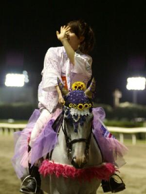 川崎競馬の誘導馬 8月ひまわり重賞Ver1 トーチくん
