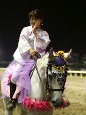 川崎競馬の誘導馬 8月ひまわり重賞Ver2 ユーちゃん