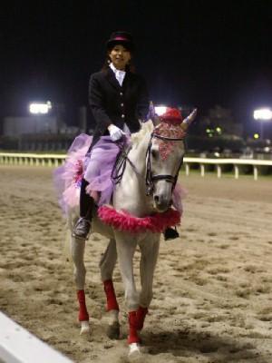 川崎競馬の誘導馬 9月前半 ユーちゃん 2