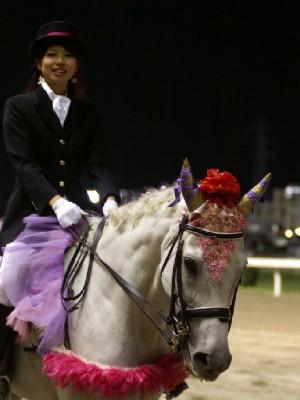 川崎競馬の誘導馬 9月前半 ユーちゃん 3
