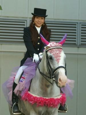 川崎競馬の誘導馬 9月開催 シロくん 1
