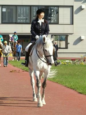 旭川競馬場の誘導馬1