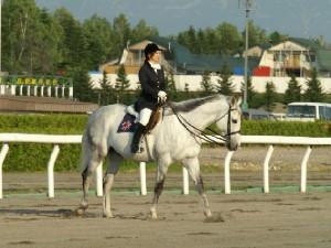 旭川競馬場の誘導馬3