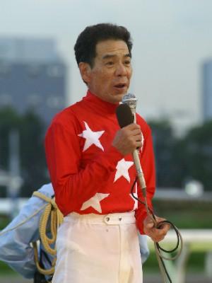 的場文男騎手 6,000勝記念セレモニー 3