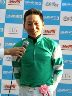 第1戦シルバースパー賞優勝 今野忠成騎手 2