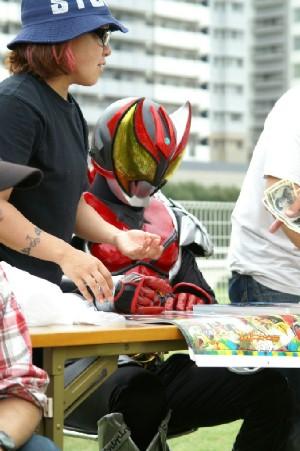 06 仮面ライダーのサイン会