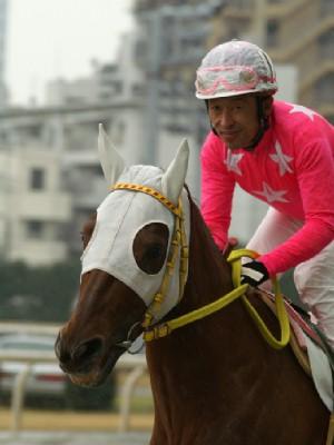 内田利雄騎手 08R 01 ホウコウフジ騎乗時5