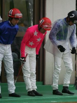 内田利雄騎手 11R 03 トミケンクリーク騎乗時1