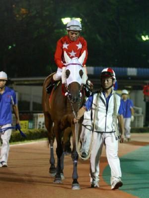 大井競馬代表 的場文男騎手