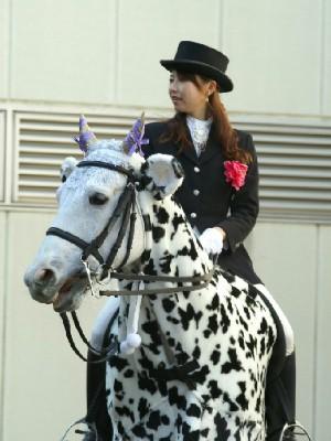 川崎の誘導馬 カゥくん トーチくんVer 1