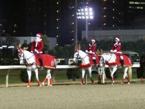 川崎競馬の誘導馬 12月クリスマス 重賞Ver 1