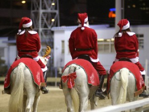 川崎競馬の誘導馬 12月クリスマス 重賞Ver 4