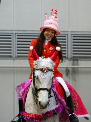 川崎競馬の誘導馬 12月開催 誕生日祝いVer 1