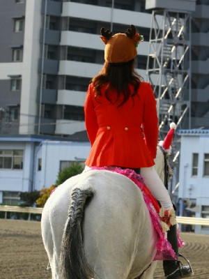 川崎競馬の誘導馬 12月開催 xmas平場Ver トーチくん 5