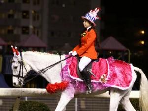 川崎競馬の誘導馬 12月開催 xmas&結婚祝いVer 2
