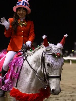 川崎競馬の誘導馬 12月開催 xmas&結婚祝いVer 4
