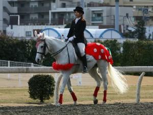 川崎競馬の誘導馬 3月開催 イチゴVer ユーちゃん 2