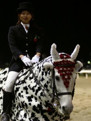 川崎競馬の誘導馬 3月開催カゥくん ユーちゃん 2