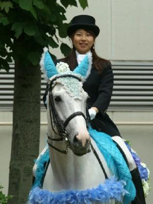 川崎競馬の誘導馬 6月紫陽花Ver トーチくん1