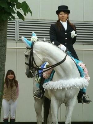 川崎競馬の誘導馬 6月紫陽花Ver トーチくん2