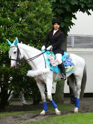 川崎競馬の誘導馬 6月開催 紫陽花Ver トーチくん 1